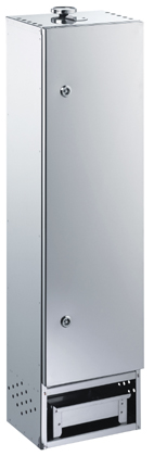FUMOIR RECTANGLE INOX DE26X21X100CM