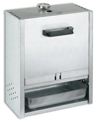 FUMOIR RECTANGLE INOX DE 50X39X21 CM