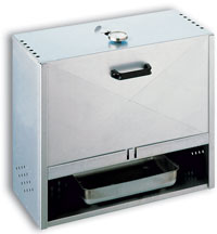 FUMOIR RECTANGLE INOX DE 50X60X28 CM